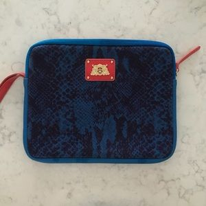 Authentic Juicy Couture iPad case